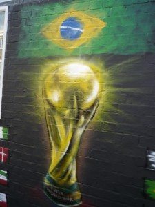 head hunters world cup brazil flag