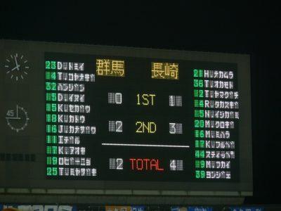 群馬2-4長崎