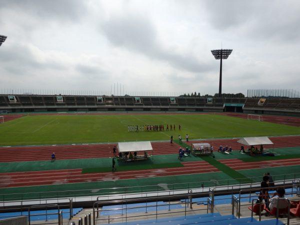 熊谷スポーツ文化公園での試合