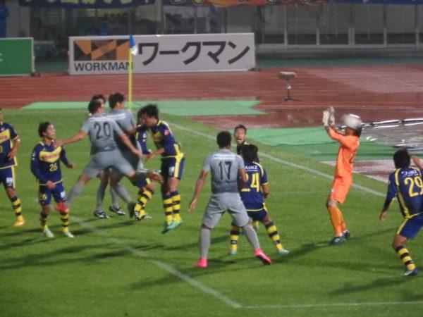 濱田のゴール