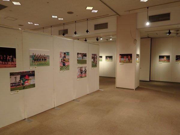 ザスパ写真展展示(1)