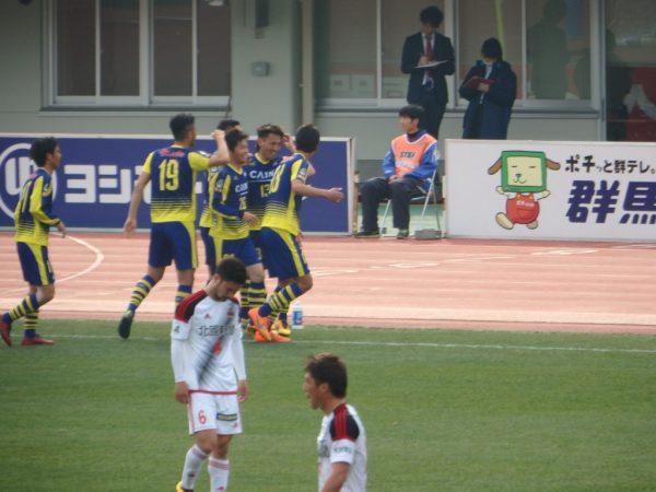 高橋駿太の初ゴール
