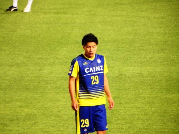 2016年J2第16節・愛媛FC戦。ザスパクサツ群馬の平秀斗がデビュー