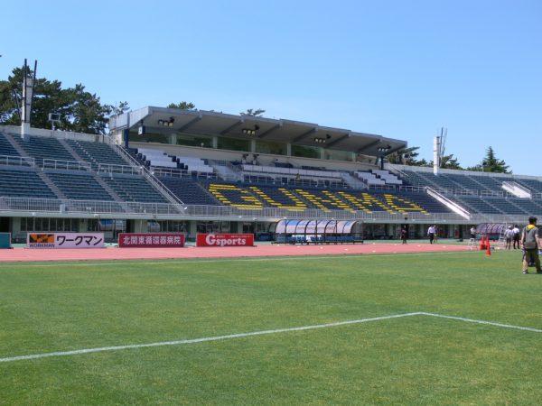 正田醤油スタジアムの屋根