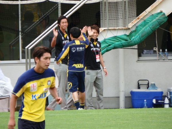 2016年天皇杯・ザスパクサツ群馬の瀬川祐輔選手