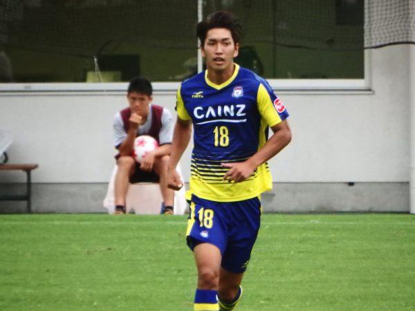 2016年天皇杯・ザスパクサツ群馬の小牟田洋佑選手