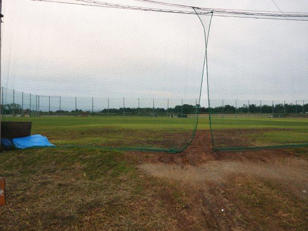 下増田の天然芝グラウンド
