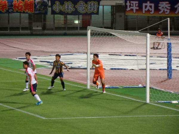 J3・セレッソ大阪U23戦のザスパクサツ群馬・松原修平