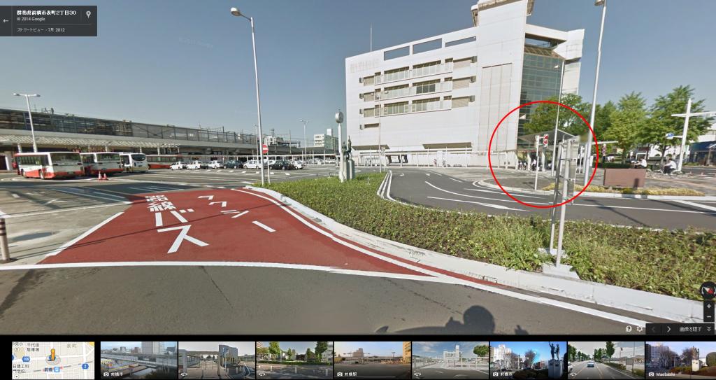 7月30日より、前橋駅からのシャトルバス乗り場が前橋駅北口6番 ...