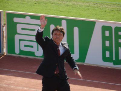 ユース代表監督になる秋葉忠宏