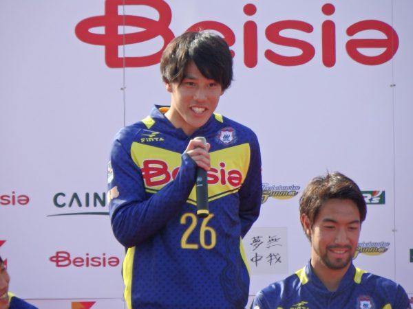 人気でそうな江坂選手