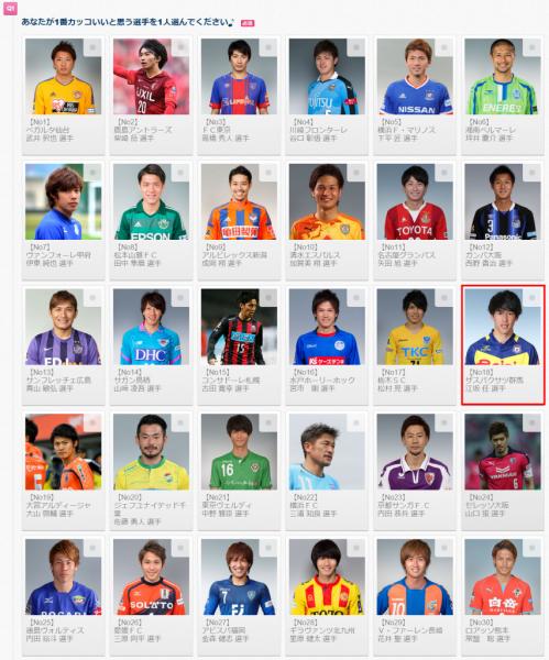 Jマジイケメン選手権2015